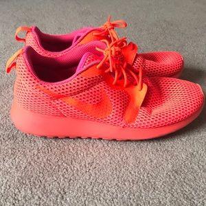 Hot Pink Nike Roshes